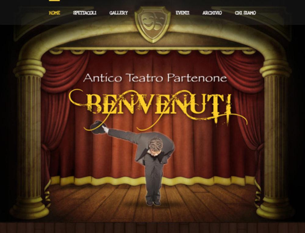siti web per artisti, teatri, cinema ed eventi